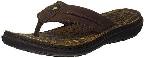 Woodland Men Ogp 2703117_Rb Brown_6 Leather Sandals