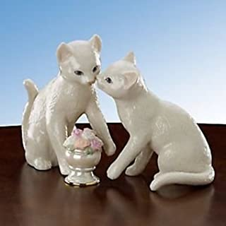 Lenox Flowers For My Sweetheart Classic Cats 3 Piece Set