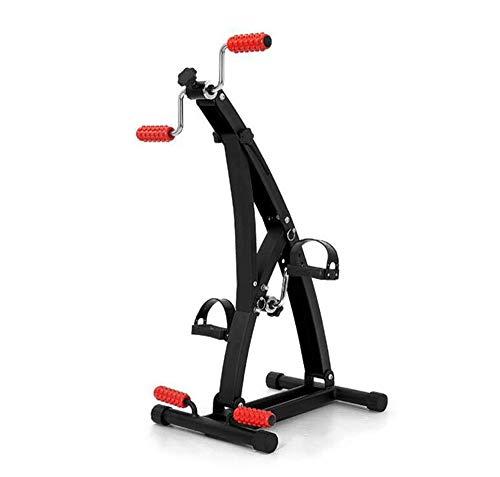TIEHH Portátil Brazo/Pierna/Pie Peddler Bicicleta estática Resistencia Ajustable de Seis velocidades Máquina...