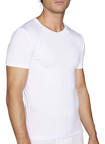 YSABEL MORA - CAMISETA TÉRMICA HOMBRE YSABEL MORA hombre color: BLANCO talla: medium