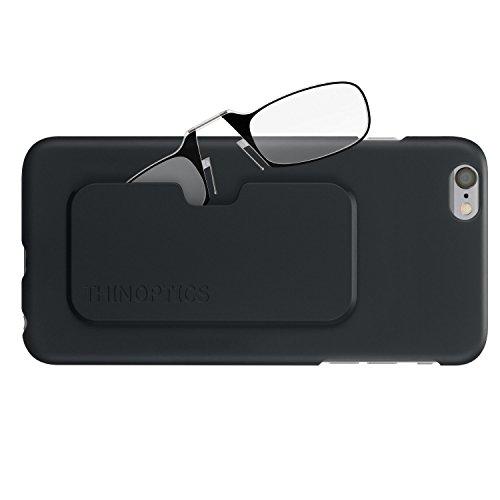 ThinOptics Slimline Case + Rectangular Reading Glasses, iPhone 6...