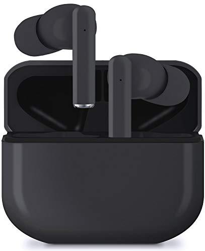 Ceestyle Auriculares Inalámbricos, Auriculares Bluetooth 5.1 Mini TWS Cascos In-Ear IPX5 Impermeable Auriculares Deportivos Estéreo con Estuche de Carga Type-C y Micrófono, Control Tactil