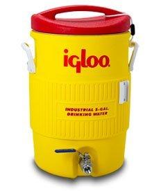 Learn To Brew Mash Tun Igloo Ton con parte inferior y válvula de acero inoxidable, 10 galones