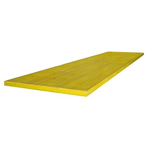 Pannello giallo per edilizia 200cm Troger Holz