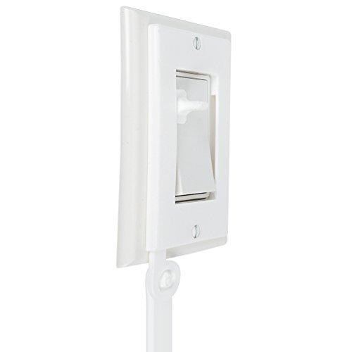 Toddler Light Switch Extender 2-Pack, for Decora / Rocker Switch