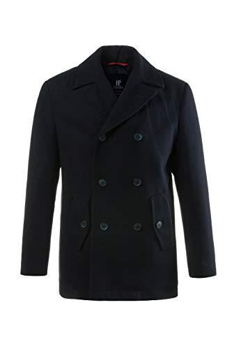 JP 1880 Herren große Größen bis 7XL, Cabanjacke, Mantel mit hochwertiger Woll-Qualität, Reverskragen Navy 3XL 700196 70-3XL