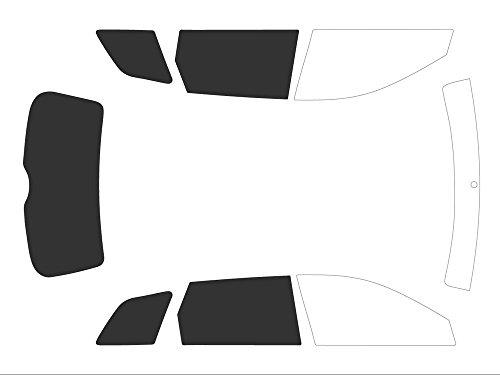 Variance Auto Films Teintés pour Auto Kit 3/4 Arrière, Noir (Black 05)