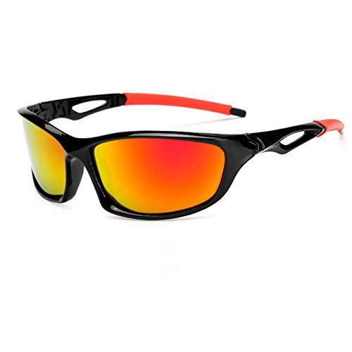 YIERJIU Occhiali da Ciclismo Nuovi Occhiali da Sole polarizzati Ciclismo Uomo Donna Occhiali da Bici da Strada Campeggio Trekking Pesca Bici Occhiali Occhiali da Ciclismo,L