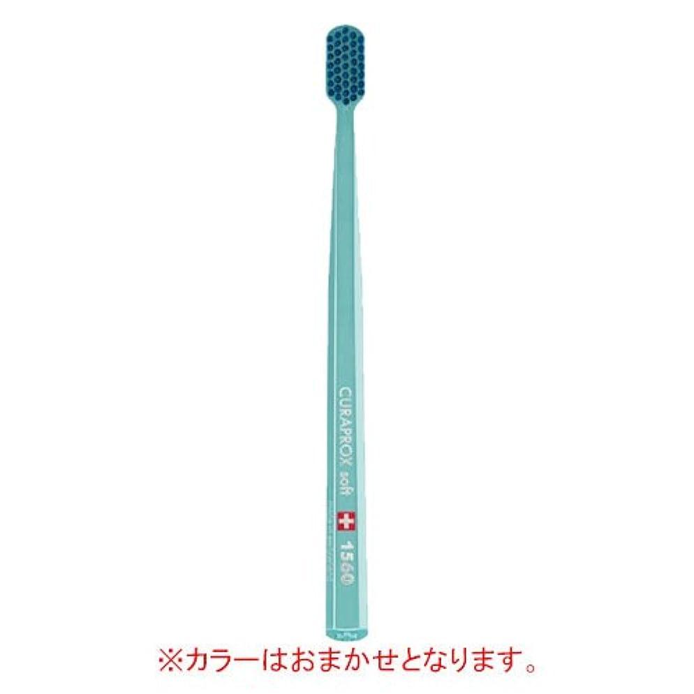 承認ひまわり怠けたキュラプロックス Curaprox 超極細毛歯ブラシ ソフト CS1560 1本