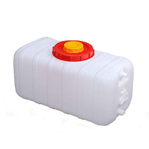 LAYX Große Wasserbehälter, bewegliche Handgriff mit Tap Eimer im Freien Spielraum Eimer Notfall Trinken Lagerung Eimer Haushaltswasserspeicher (200L, 300L),200L
