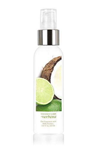 Coconut Lime & Verbena Perfume Fine Fragrance Mist by Body Exotics 3.5 Fl Oz 103 Ml ~ Irresistible Fusion of Fresh Coconut, Juicy Lime, Invigorating Verbena & Luscious Vanilla