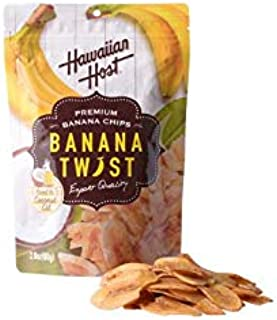 ハワイアンホースト パリパリのバナナツイスト 80g×2袋