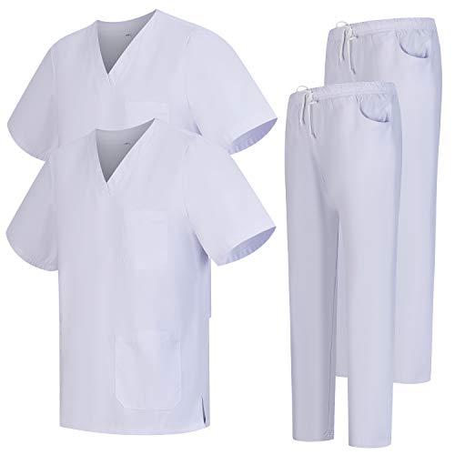 Workwear Tucano - Pack 2 Pcs - Conjuntos Uniformes Sanitarios Unisex -...