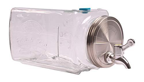 Kühlschrank-Getränkespender 3 Liter Getränkeportionierer Dispenser Gartenparty