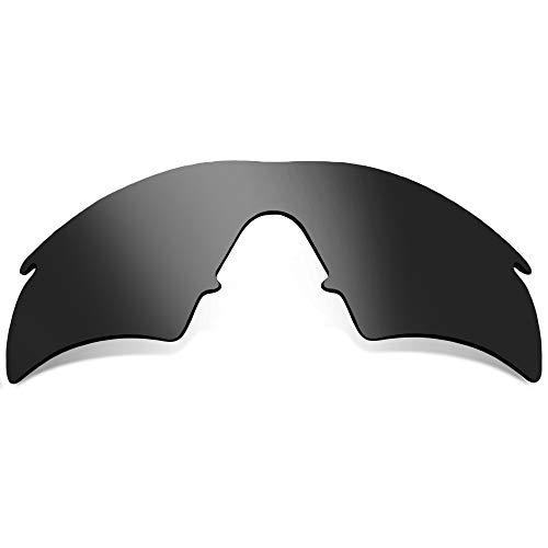 SEEK Ersatzgläser Kompatibel mit OAKLEY M Frame Hybrid Schwarz Iridium