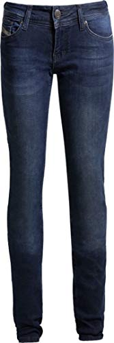 John Doe Betty High Waist dames jeans 2017 zwart 26 L34