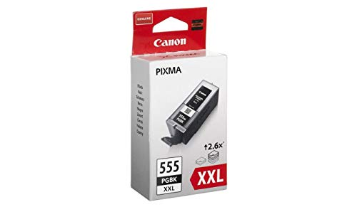 Canon Pixma Pgi-555 Xxl High Capacity Ink Cartridge for Canon Pixma Mx925 - Black