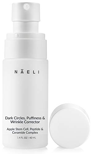 31Y8Zka4iaL - Eye Cream for Dark Circles, Puffiness & Wrinkles - Anti Aging Bags Treatment - Apple Stem Cell, Peptide & Ceramide Complex - Hydrates, Brightens & Restores Under Eye, 1.4 oz.