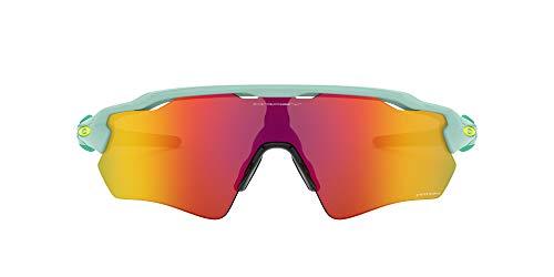 Oakley Men's OO9275 Radar EV Path Asian Fit Sunglasses, Factory Fade/Prizm Sapphire, 35 mm