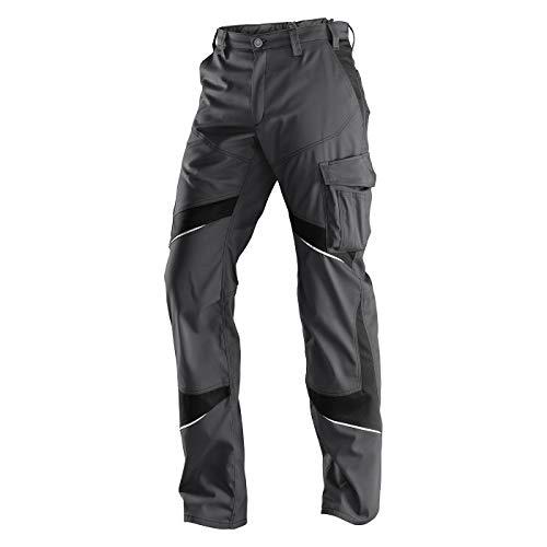 KÜBLER ACTIVIQ Arbeitshose anthrazit, Größe 54, Herren-Arbeitshose aus Mischgewebe, leichte Arbeitshose von KÜBLER Workwear