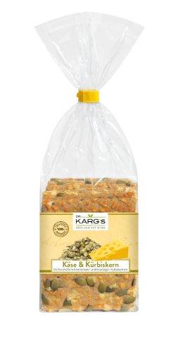 Dr. Karg Käse-Kürbiskern Feinschmecker-Knäckebrot, 5er Pack (5 x 200 g Beutel)