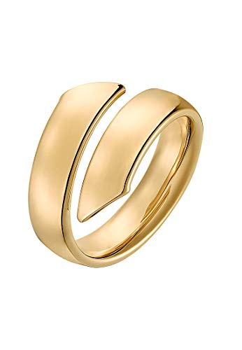 CHRIST Gold Damen-Damenring 375er Gelbgold 50 Gold 32004395