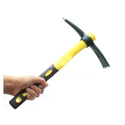 Outdoor Camping Fiberglass Handle Small Size Tools Pickaxe