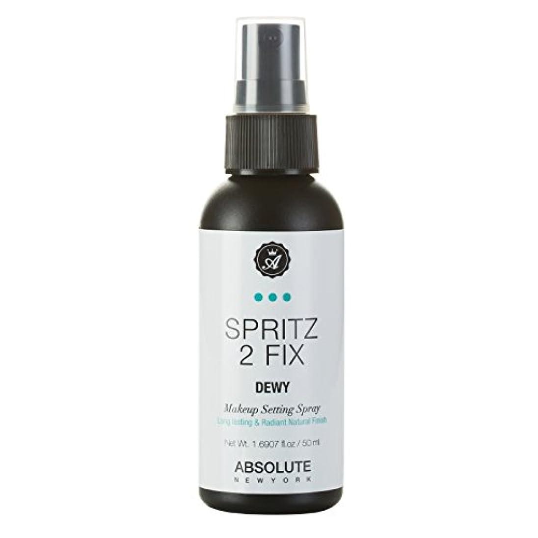 ようこその頭の上毎日(3 Pack) ABSOLUTE Spritz 2 Fix Spray - Dewy (並行輸入品)