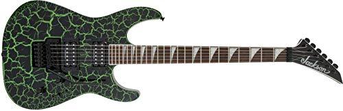 Jackson X Series Soloist SLX Slime Green Crackle