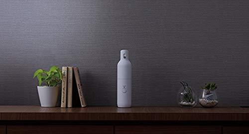 ツインバードボトル型クリーナー充電式ホワイトHC-E205W卓上クリーナー