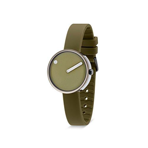 Rosendahl Unisex analoog kwarts horloge met siliconen armband 103972V000001