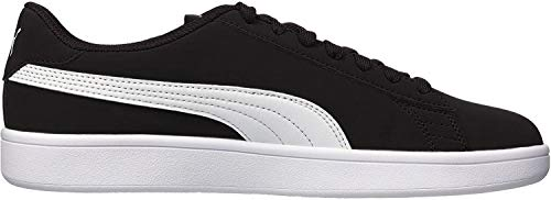 PUMA Men's Smash v2 Sneaker, Blackwhite, 9.5 M US