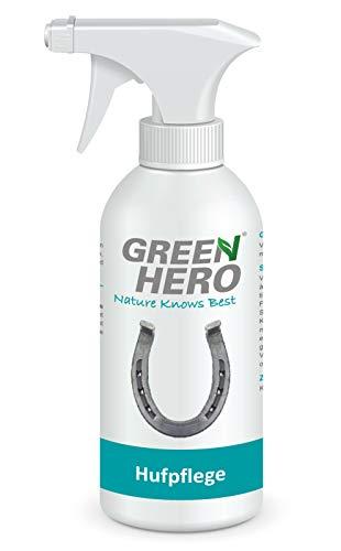 Green Hero Hufpflege für Pferde, 500 ml, Pflegt Haut und Huf bei Strahlfäule, Mauke und Hautverletzungen, Strahlpflege, Strahlspray, Hufspray