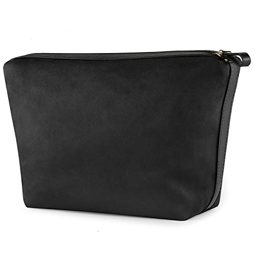 FOREGOER Large Makeup Bag Clutch Pouch Cosmetic Toiletry Bag for Men Womens…