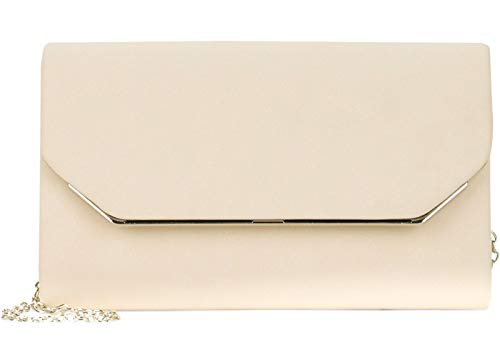 Tamaris Damen Clutch Amalia weiß One Size