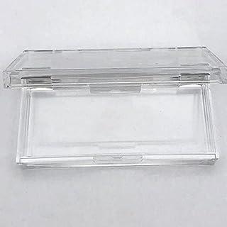 Custom 20/50 stks Plastic Acryl Vierkante Case met Lade Groothandel Washes Private Label Logo Verpakkingsdoos Lege Case (C...