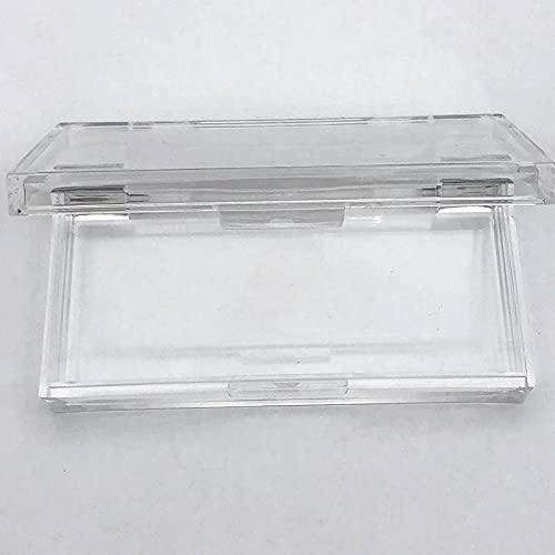 HKDZB Coffret carré Acrylique en Plastique de 20/50 pcs personnalisé avec Plateau en Gros de Cils en Gros Label privé Logo boîte d'emballage boîtier Vide (Couleur : Box 20pcs)