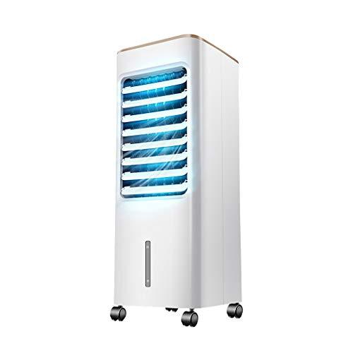 GYF Aire Acondicionado Portátil,3 En 1 Ventilador Enfriador Evaporativo Compact Climatizador Portátil para Hogar Oficina Blanco