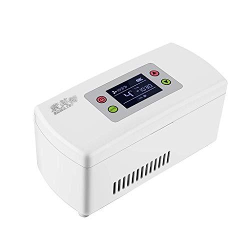 JF-XUAN Mini Kühlschrank Medikament Kühlschrank und Insulin-Kühler - Reise, Haushalt, tragbares Auto Kühlschrank/kleine Transportbox for Arzneimittel DC-Strom Mini-Kühlschrank