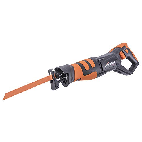 Evolution Power Tools R230RCP - Reciprocating Saw with 4 Blades