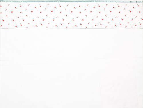 Briljant baby - laken voor een wieg, kinderwagen of babybed Fleur - 100 x 150 cm roze - hoogwaardige kwaliteit