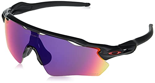 Oakley Radar EV Path OO9208 920846 38M Matte Black/Prizm Road Sunglasses For Men+BUNDLE with Oakley Accessory Leash Kit