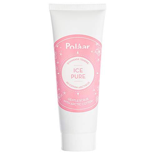 Polaar - Scrub delicato IcePure al cotone artico - 50 ml - Peeling - Esfoliante viso - Pelli impure - Leviga la pelle - Affina la grana - Tutti i tipi di pelle incluse le sensibili - Attivo naturale
