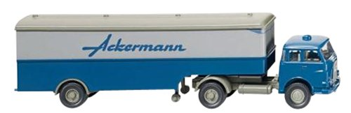 International trade WIKING 1/87 MAN semi-trailer Ackermann (japan import)
