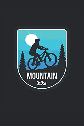 Mountain Bike: Ciclista Bicicleta de montaña Bicicleta Biker Gifts Cuaderno rayado (formato A5, 15, 24 x 22, 86 cm, 120 páginas)
