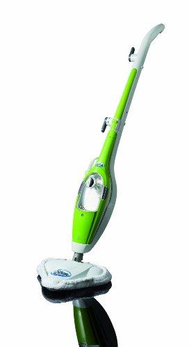 Aqua Laser Gold - Grün - Premium Dampfbesen/Dampfreiniger mit kraftvollen 1500W und integriertem Handdampfreiniger - Hygienische und gründliche Sauberkeit