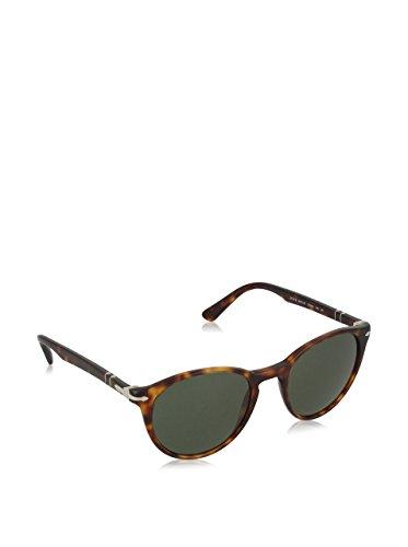 Persol Herren 0PO3152S Sonnenbrille, Braun (Havana/Green), 49
