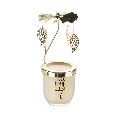 candele profumate kasanova Candela Carosello life in metallo e vetro