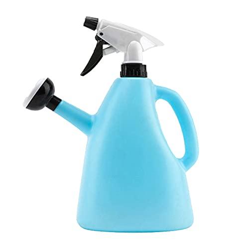 Botella Spray Plantas Plastico Ajustable Planta PláStico Botella Spray Con Gatillo Bomba Atomizador Planta Botella Spray para riego jardín, limpieza planta flore jardín, volumen 1.5 litro (1 piezas)