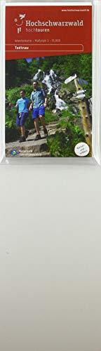 Hochtouren Wanderkarte Todtnau: Maßstab 1:35000
